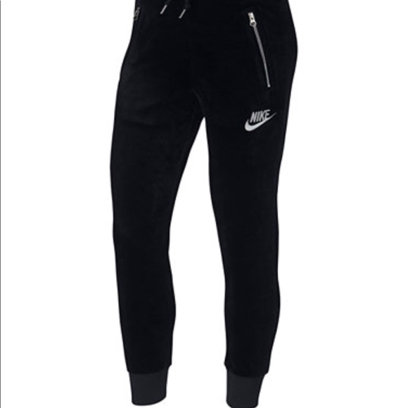 hot sale huge inventory coupon codes Nike velour tracksuit pants
